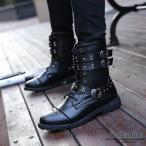エンジニアブーツ メンズ 裏起毛 ショートブーツ エンジニア ブーツ 革靴 皮靴 紳士靴 カジュアルシューズ ブラック