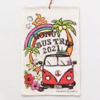 ハワイ カレンダー 2021年 壁掛け ポスター 2021 ハワイアン インテリア 雑貨 日用品 サーフィン ワーゲン 虹 旅行 (BUS)