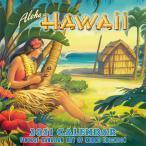 ハワイ デラックスカレンダー 2021 12ヶ月 ハワイアンアーティスト Aloha Hawaii Vintage Hawaiian Art of Kerne Erickson
