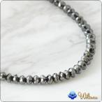 ハワイアンジュエリー ネックレス Weliana ブラックダイヤモンド ネックレス 50ct K18 18k ホワイトゴールド M wne1191