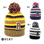 ROXY ロキシー セール オススメ ニット帽 レディース 帽子 オレンジ ネイビー パープル ボーダー柄 スキーウェア お出かけ RBE134331