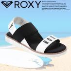 ショッピングロキシー ロキシー ROXY サンダル レディース 黒 白 カーキ RSD172302