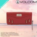 ショッピングvolcom VOLCOM ボルコム セール  長財布 財布 ウォレット レディース オススメ 三つ折り レザー 人気ブランド E6031505