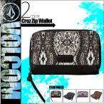 ショッピングvolcom VOLCOM ボルコム セール  長財布 財布 ウォレット レディース オススメ ラウンドファスナー 人気ブランド 総柄 E6031506