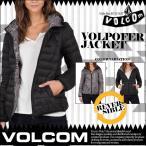 VOLCOM ボルコム ダウンジャケット リバーシブルジャケット アウター レディース オススメ VOLPOFER JACKET リバーシブル仕様 フード付き 人気ブランド B1531617