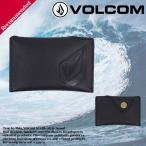 ボルコム  カードケース 人気 ブランド おすすめ 旅行 プレゼント ギフト レザー おしゃれ 黒 VOLCOMD 67417JC