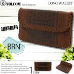 ショッピングvolcom ボルコム VOLCOM レディース 財布 長財布 二つ折り フェイクレザー VAQUERA WALLET E6031507