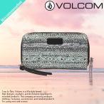 ショッピングvolcom VOLCOM ボルコム セール 財布 レディース 長財布 二つ折り オススメ CIAO BELLA ZIP WALLET 総柄 人気ブランド E6011602