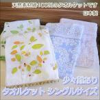 少々難あり ジャガード織 タオルケット 日本製 シングルサイズ 綿100%