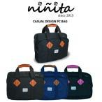 【ninita】パソコンバッグ カジュアル 15.6インチワイ