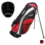 イグニオ IGNIO IG-0B1055STCB メンズ ゴルフ スタンド キャディバッグ 9型 ブラック×レッド ゴルフ5 golf5