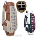 アシュワース レディース ゴルフ リーフプリント キャディバッグ 8.5型 (KW883) golf5 2015 新作