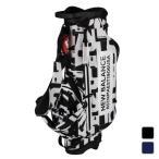 ニューバランス ゴルフ キャディバッグ マルチパターンプリント スタンド型キャディバッグ 0129180002