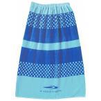 ティゴラ TIGORA ジュニア キッズ・子供 スイミング ラップタオル : ブルー TR-3S4607TO BL