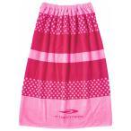 ティゴラ TIGORA ジュニア キッズ・子供 スイミング ラップタオル : ピンク TR-3S4607TO PK