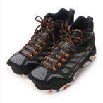 ショッピングトレッキングシューズ メレル トレッキング シューズ モアブ ゴアテックス MOAB FST MID GORE-TEX : ブラック×グレー J35737 登山靴 MERRELL