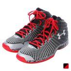 ショッピングアンダーアーマー アンダーアーマー UAクラッチフィット ニホン 1261614 メンズ バスケットボール シューズ : ブラック×レッド UABK UNDER ARMOUR