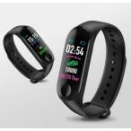 スマートウォッチ イマジン IMAZINE S3 スマートバンド スマートフォン対応 心拍計 血圧測定 活動量計 歩数計 睡眠モニター ランニングウォッチ:ブラック