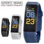 スマートウォッチ イマジン IMAZINE 115 スマートバンド スマートフォン対応 心拍計 血圧測定 活動量計 歩数計 睡眠モニター ランニングウォッチ:ネイビー