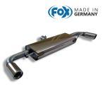 FOX フォックス オールステンレスマフラー(リアマフラー) AUDI TT (8J) クーペ/ロードスター FF 1.8TFSI/2.0TFSI用 90mm 斜め 左右