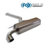 FOX フォックス オールステンレスマフラー(リアマフラー) BMW F20 116i/118i用 90mm 斜め