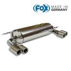 FOX フォックス オールステンレスマフラー(リアマフラー) MAZDA Roadster (NC) / ロードスター (NC) 2.0用 76mm ダブル 左右