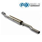 FOX フォックス オールステンレスマフラー(フロントマフラー) MINI ミニ (R56) クーパーS用
