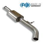 FOX フォックス オールステンレスマフラー(フロントマフラー) RENAULT Clio4 / ルーテシア4 ルノースポール用