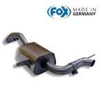 FOX フォックス オールステンレスマフラー(リアマフラー) RENAULT Megane3 / メガーヌ3 ルノースポール用 (純正テールエンドを使用)