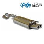 FOX フォックス オールステンレスマフラー(リアマフラー) VOLKSWAGEN Polo (6N) / ポロ (6N) GTI用