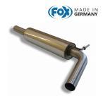 FOX フォックス オールステンレスマフラー(フロントマフラー) VOLKSWAGEN Polo (6R) / ポロ (6R) 1.4GTI用