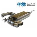 FOX フォックス オールステンレスマフラー(リアマフラー) VOLKSWAGEN Golf5 / ゴルフ5 TSI/GT TSI用