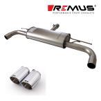 REMUS レムス リアマフラー MINI クーパーS/クーパーSD クロスオーバー(R60)/クーパーS ペースマン(R61)用 Φ102 アングル 左右 (品番:754011 0500+0026 70S)