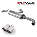 REMUS レムス リアマフラー ゴルフ6 GTI/ゴルフ6 GTI エディション35用 Φ102 アングル 左右 (品番:956008 0500+0026 70S)