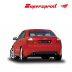 Supersprint スーパースプリント リアマフラーAUDI  A4/アウディ A4 1.8T クアトロ '01-/A4 3.0 クアトロ '01/8E/B6 セダン/アバント(品番763904+763934)