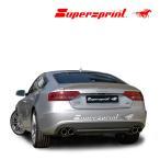 Supersprint スーパースプリント リアマフラーAUDI A5 SPORTBACK/アウディ A5 スポーツバック  2.0TFSI クアトロ '10- (品番767206+767236)