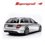 Supersprint スーパースプリント リアマフラー AMG W204/C204 AMG C63 V8 '07- セダン/ワゴン/クーペ (品番846633+846603+846607+846637)