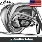 キャロウェイ ゴルフ ローグ X アイアン 単品 (4番、PW、AW、GW、SW) KBS マックス 90 ステップレス スチールシャフト / Callaway Rogue KBS MAX 90 Steel