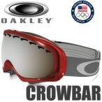 オークリー スノーゴーグル オリンピック チーム USA クローバー / クロウバースタンダードフィット 59-282 ブラック イリジウム (OAKLEY SNOW GOGGLE TEAM USA