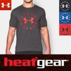 アンダーアーマー ヒートギア メンズ UA ロゴ 半袖 Tシャツ ルーズフィット 1268759 / UNDER ARMOUR SHORT SLEEVE 【USA モデル】