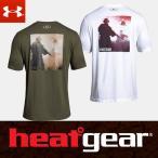 アンダーアーマー ヒートギア UA フリーダム プリント 半袖 メンズ Tシャツ 1309121 UNDERARMOUR HEATGEAR USA モデル