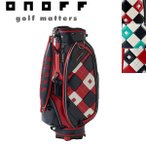 ONOFF ゴルフ キャディ バッグ 9型 OB1916 オノフ 日本正規品 (2017年 新色追加)