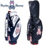 サイコバニー ゴルフ キャディ バッグ 9型 5分割 46インチ対応 PBMG 6SC1 Psyco Bunny 【日本正規品】 / FLAGSHIP MODEL CB】