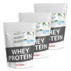 プロテイン ホエイ WPC 1kg ヨーグルト 3個 セット アルプロン アミノ酸 筋トレ 約150食分 タンパク質含有量約71%
