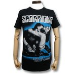 スコーピオンズ/SCORPIONS/禁断の刺青/Love at First Sting/Tシャツ/メンズ/黒