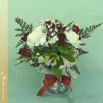 Yahoo!お花とお取り寄せアルトルミナーレヨーロッパスタイルアレンジメント ル・フルール 赤バラブーケロンA