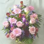 Yahoo!バラ プレゼント アルトルミナーレアレンジメント バラとガーベラのお祝いアレンジメント