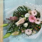お見舞い花束 ピンク系の花束 旬