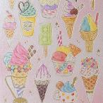 からふるアイスクリーム MIND WAVE/マインドウェイブ モチーフ