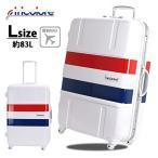 スーツケース Lサイズ おしゃれ 大型 Tricolore 68cm 無料受託手荷物最大サイズ 人気 可愛い キャリーケース siffler シフレ 1年保証付 B1133T